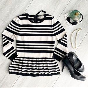 Ann Taylor Loft Peplum Sweater